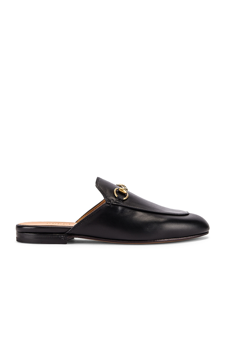 Image 1 of Gucci Princetown Slides in Black