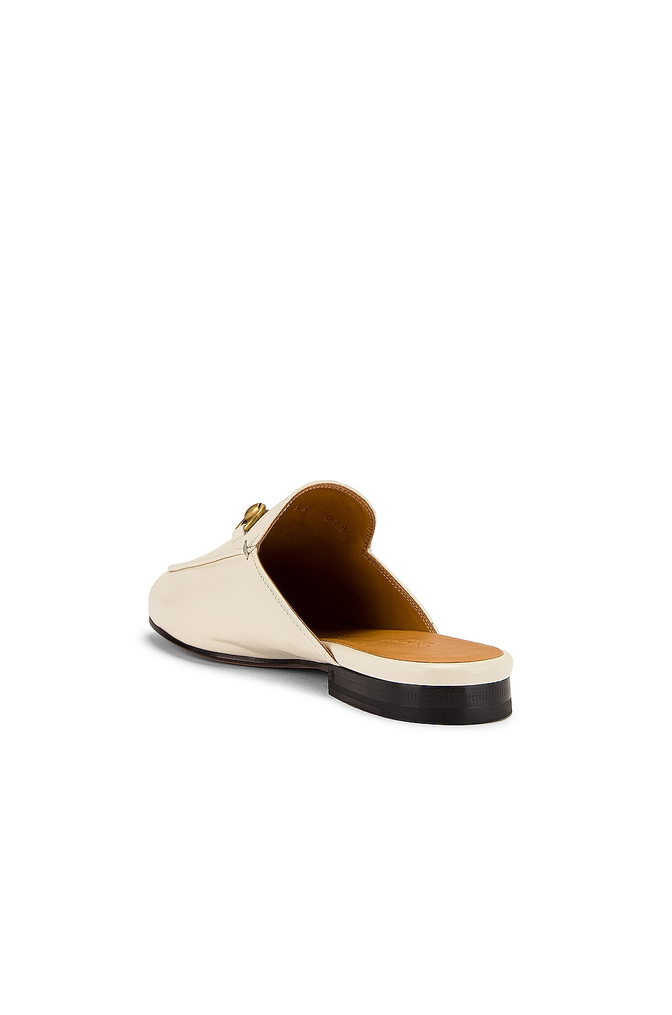 Image 3 of Gucci Princetown Slides in Mystic White