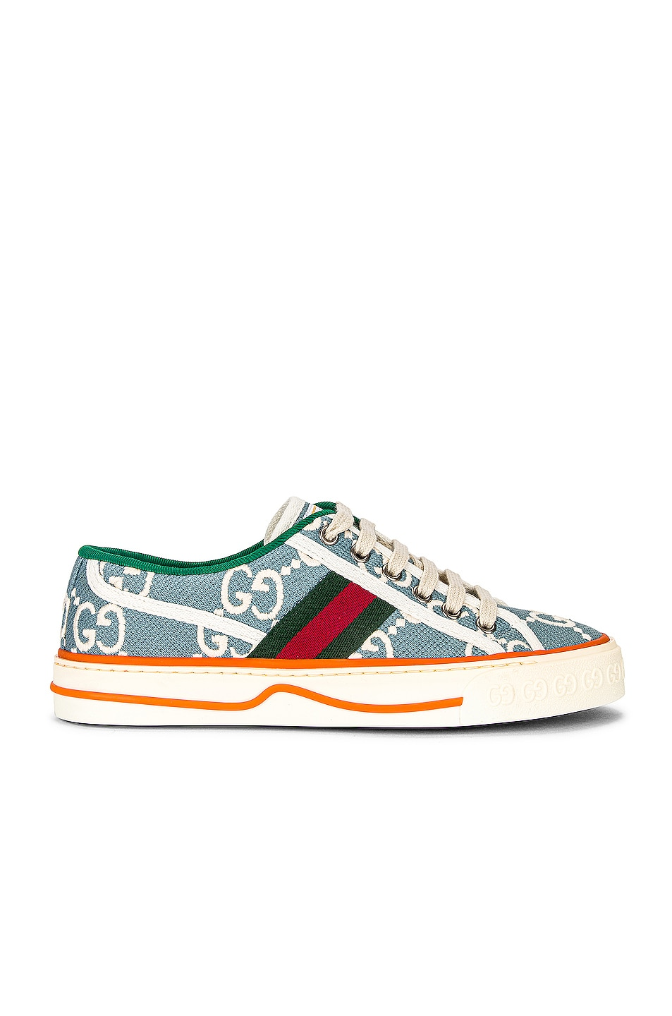Image 1 of Gucci Tennis 1977 GG Sneakers in Blue