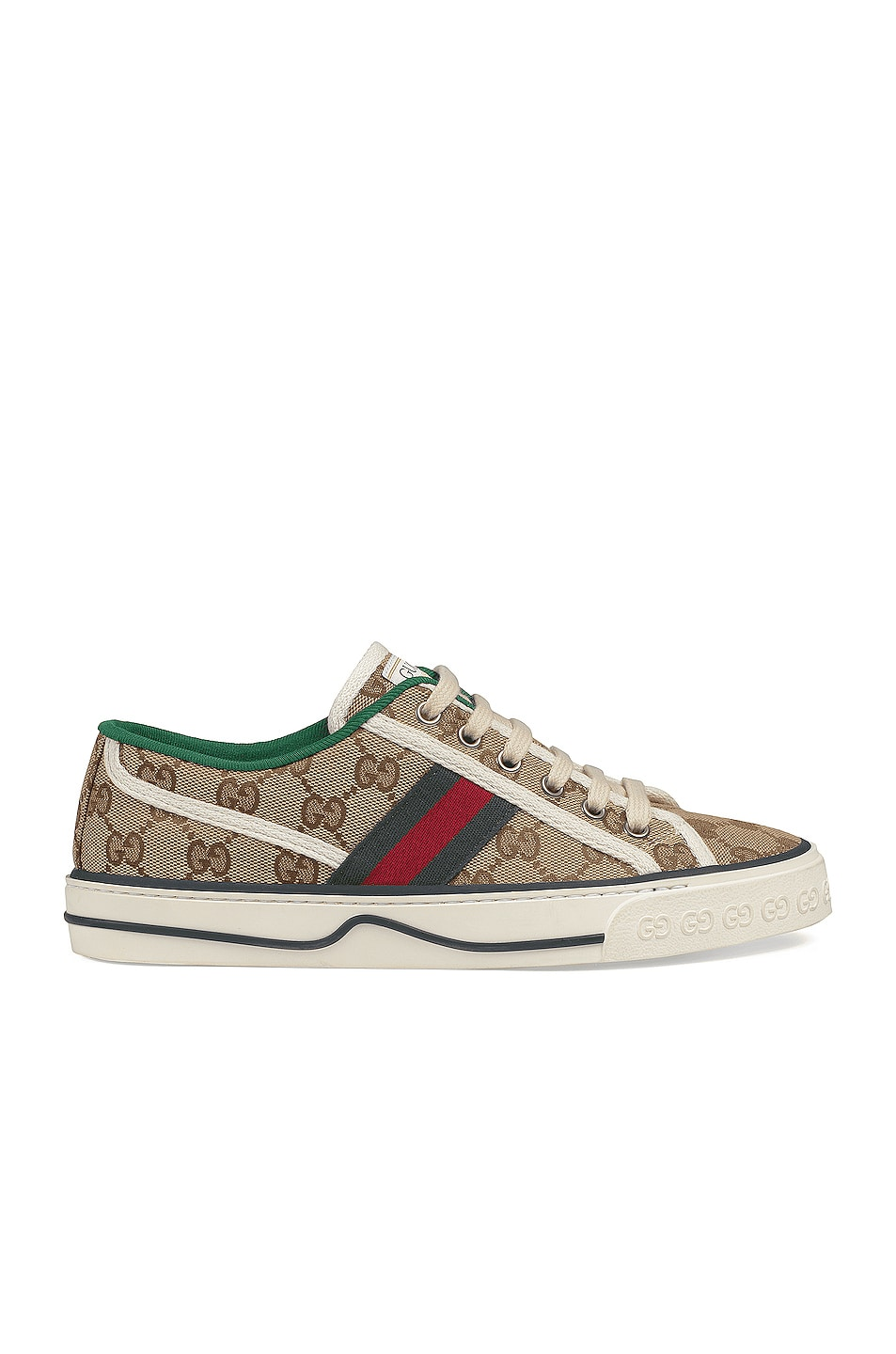 Image 1 of Gucci Gucci Tennis 1977 Sneakers in Beige Ebony & Mystic White