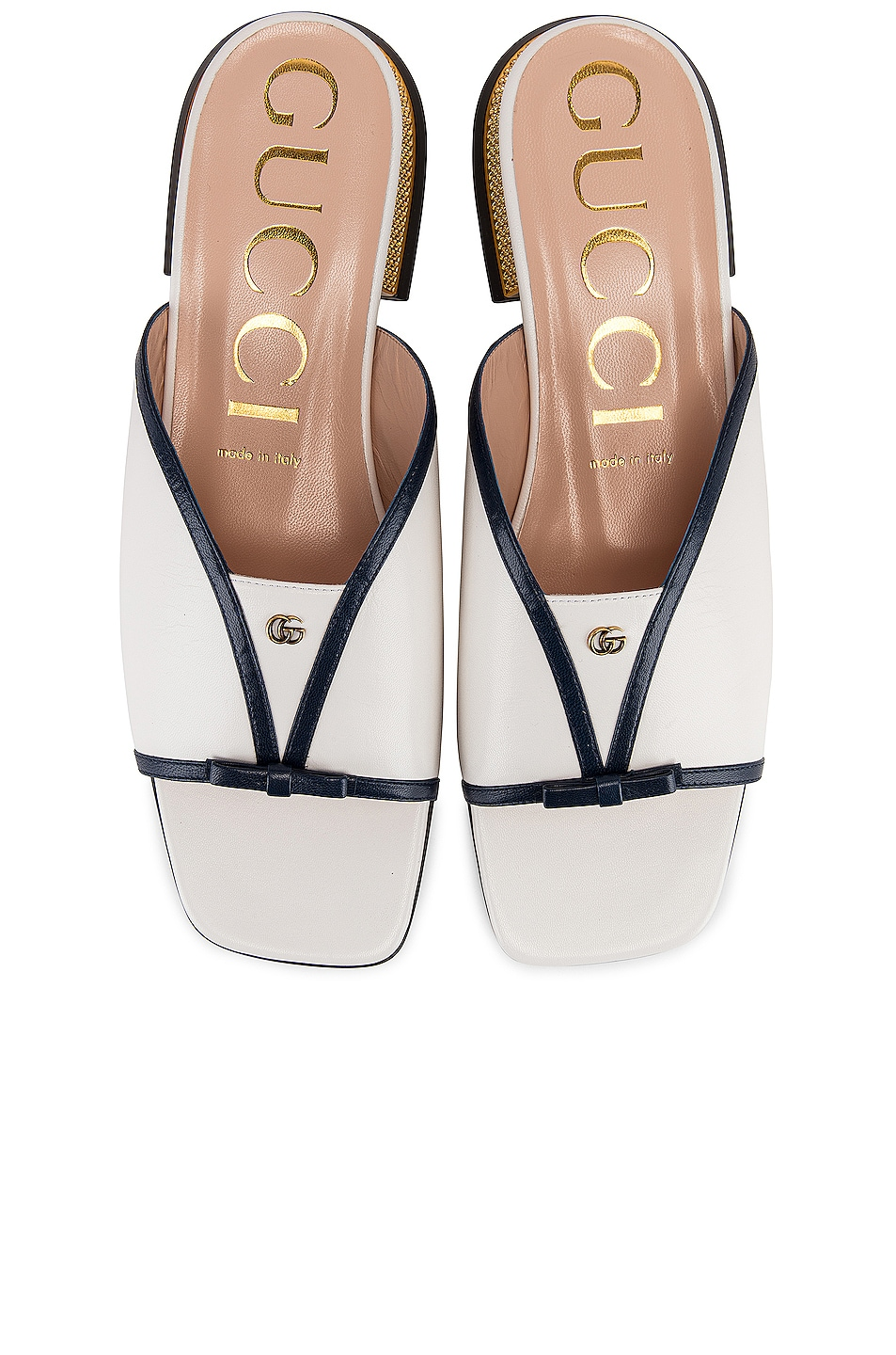 Image 1 of Gucci Alison Sandals in Blue & Great White