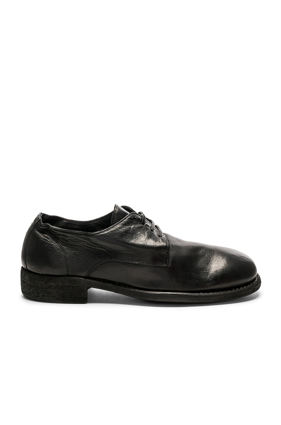 Image 1 of Guidi Full Grain Leather Donkey Classic Derbies in Black