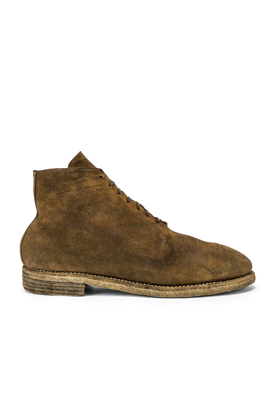 Image 1 of Guidi One Piece Desert Boot in Brown
