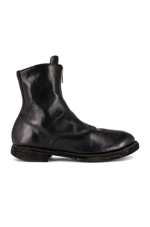 Image 1 of Guidi 210 Zip Boot in Black