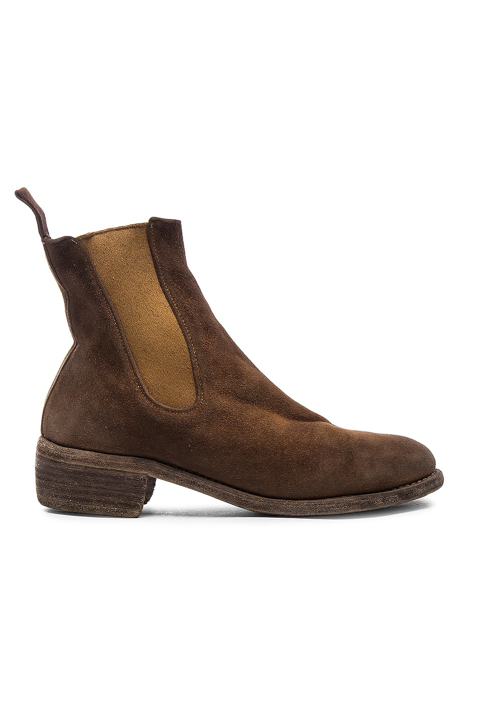 Image 1 of Guidi Stag Chelsea Boots in Brown