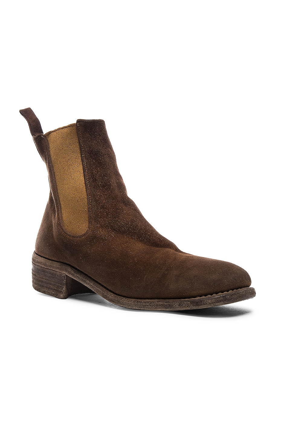 GUIDI Stag Chelsea Boots in .