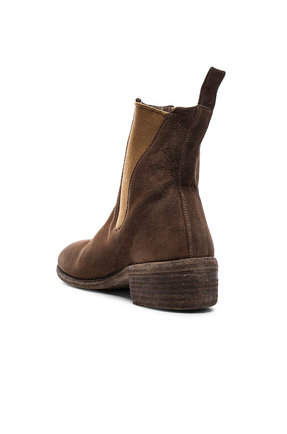 Image 3 of Guidi Stag Chelsea Boots in Brown