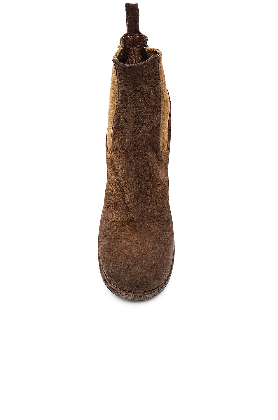 Image 4 of Guidi Stag Chelsea Boots in Brown