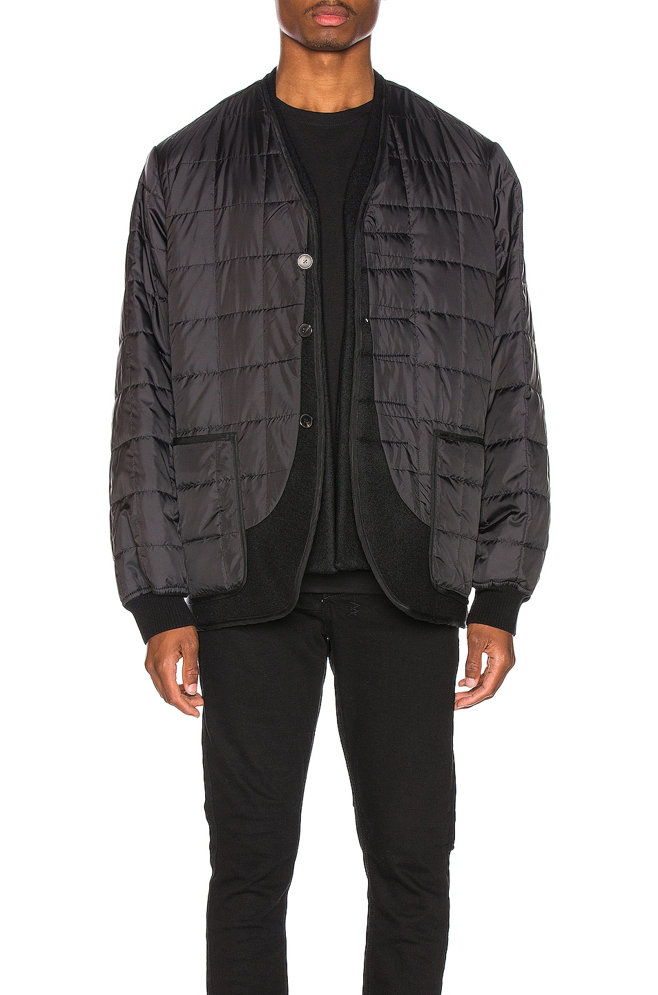 Image 1 of Haider Ackermann Double Layer Jacket in Black
