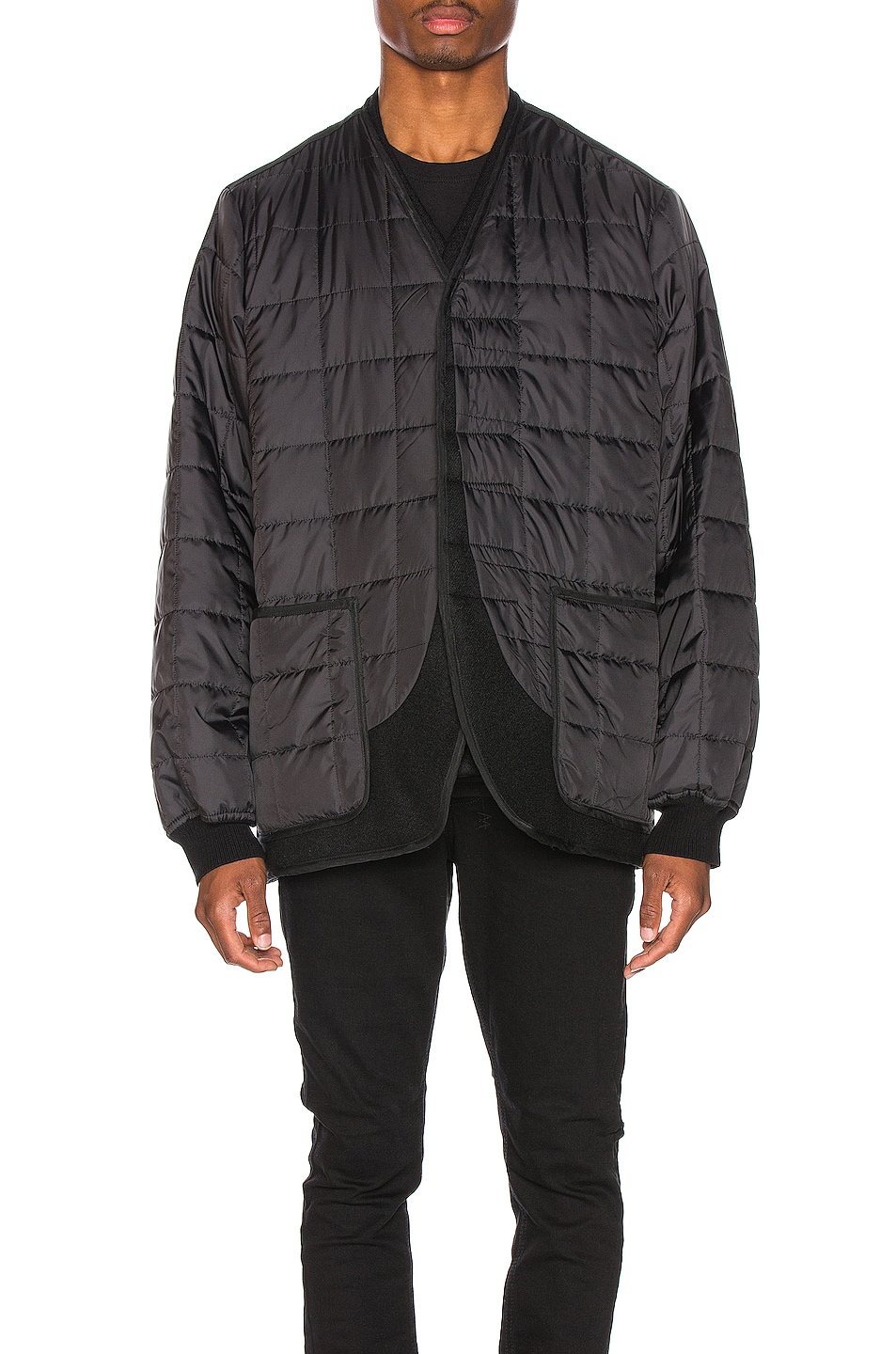 Image 2 of Haider Ackermann Double Layer Jacket in Black