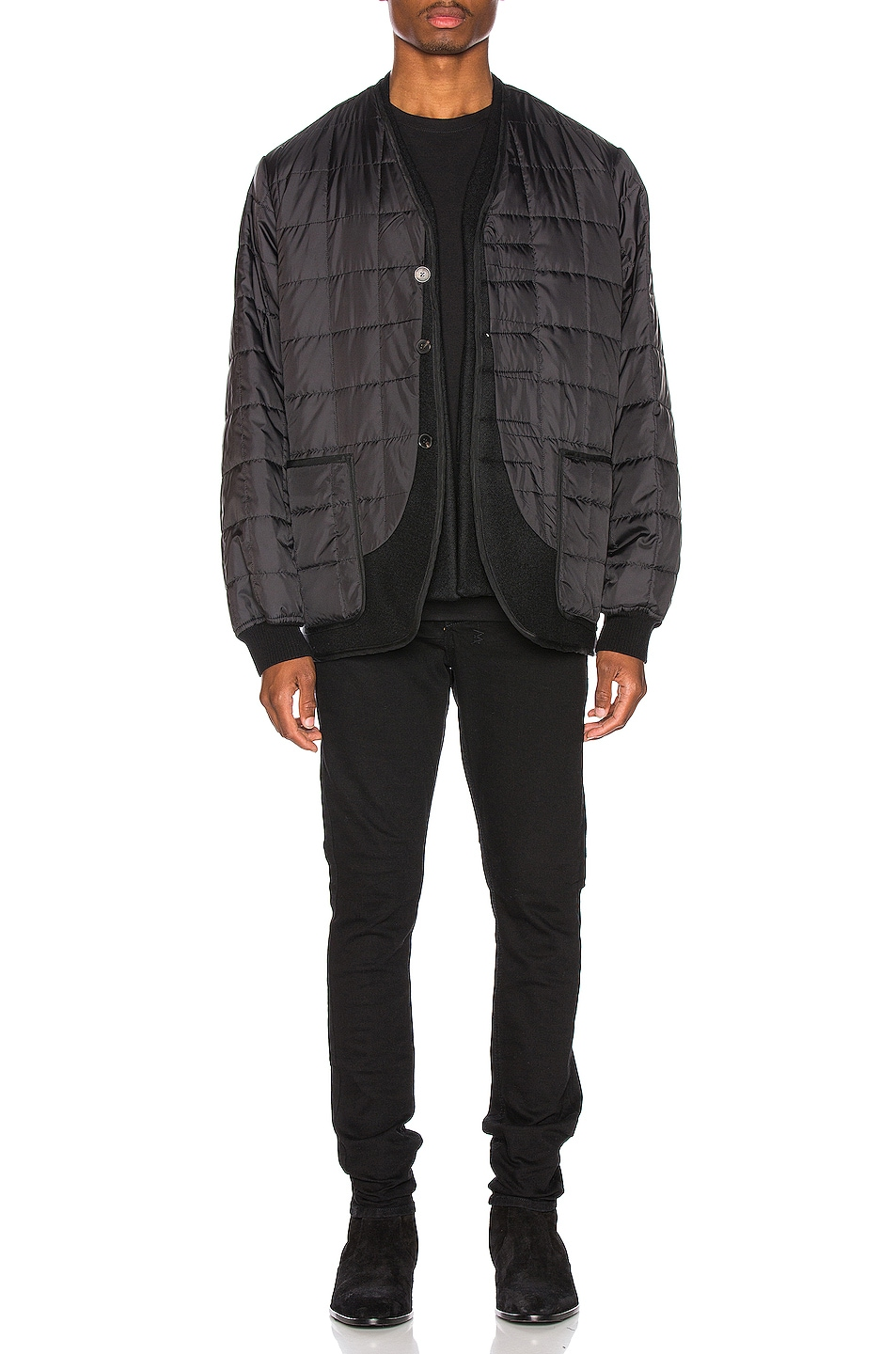 Image 5 of Haider Ackermann Double Layer Jacket in Black