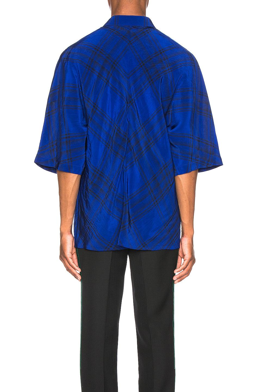 Image 3 of Haider Ackermann Kimono Shirt in Montauk Blue