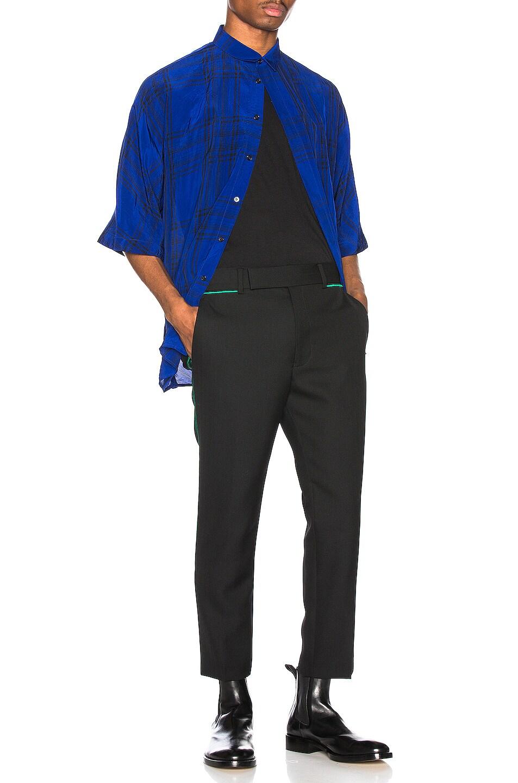 Image 4 of Haider Ackermann Kimono Shirt in Montauk Blue