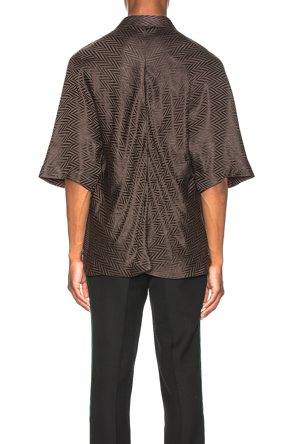 Image 3 of Haider Ackermann Kimono Shirt in Athenaes Brown