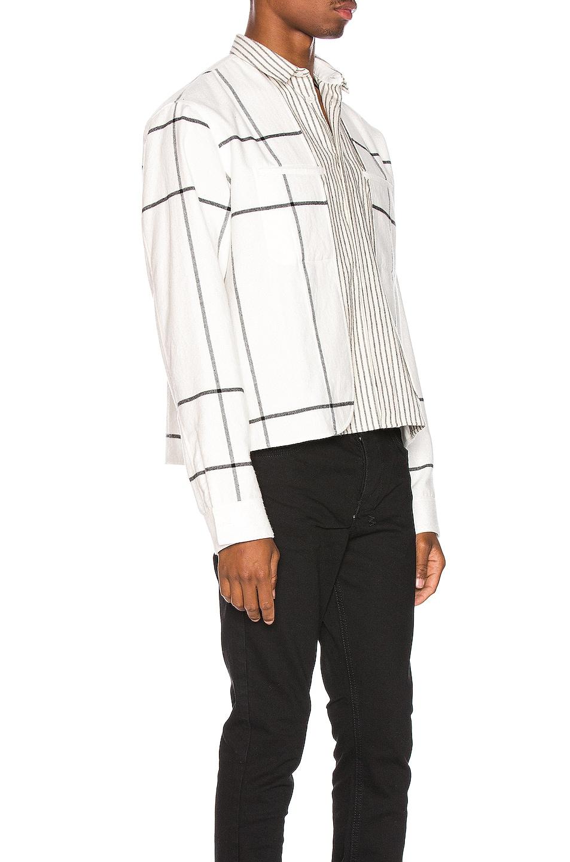 Image 2 of Haider Ackermann Double Layer Shirt in Machoi White