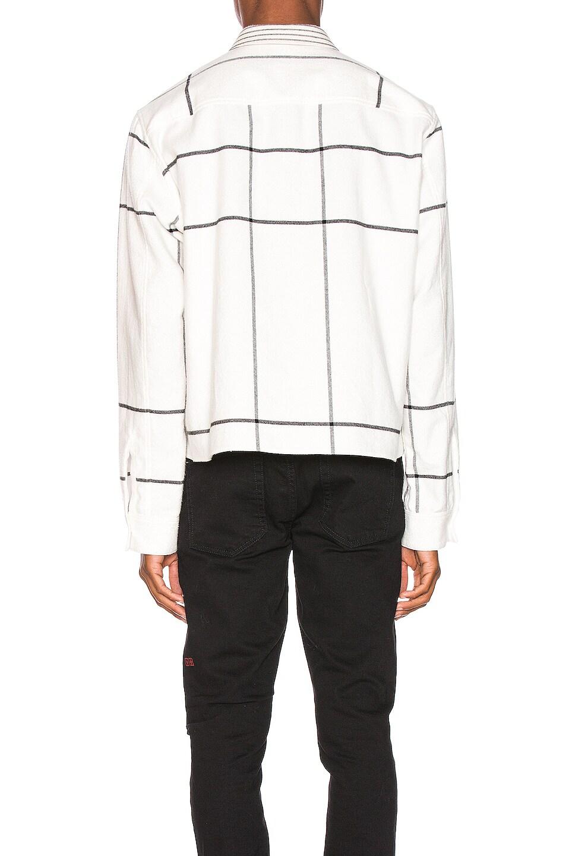 Image 3 of Haider Ackermann Double Layer Shirt in Machoi White