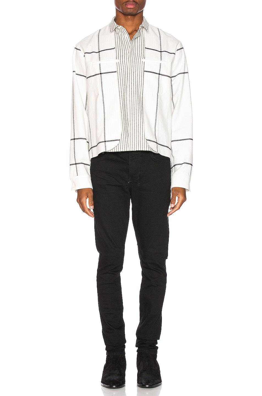Image 4 of Haider Ackermann Double Layer Shirt in Machoi White