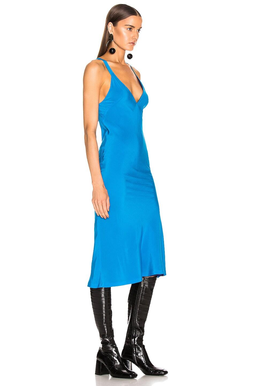 Image 2 of Haider Ackermann Camisole Dress in Sophora Blue