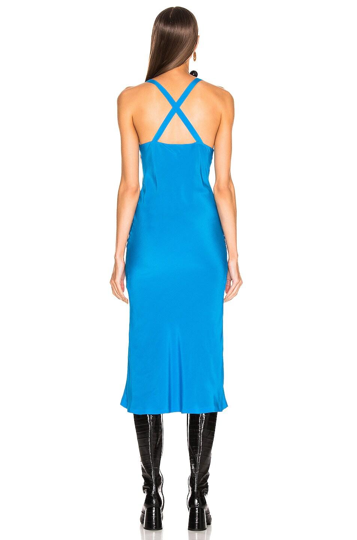 Image 3 of Haider Ackermann Camisole Dress in Sophora Blue