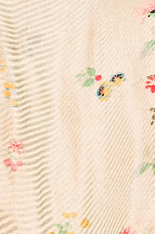 Image 6 of Haider Ackermann Biais Detail Shirt in Freesia Sand & Satin Biais Black
