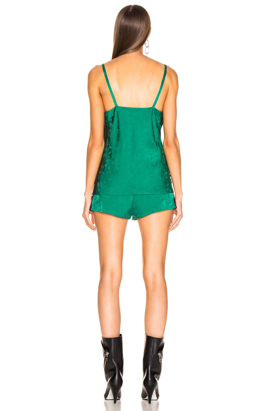 Image 3 of Haider Ackermann Pyjama Set in Gaura Emerald & Sophora Black