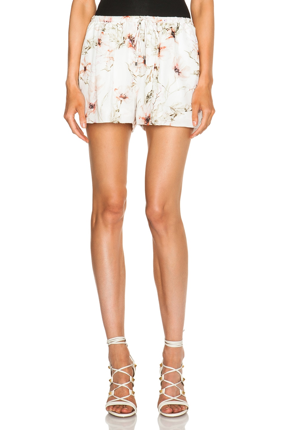 Image 1 of Haute Hippie Summer Shorts in Swan Multi