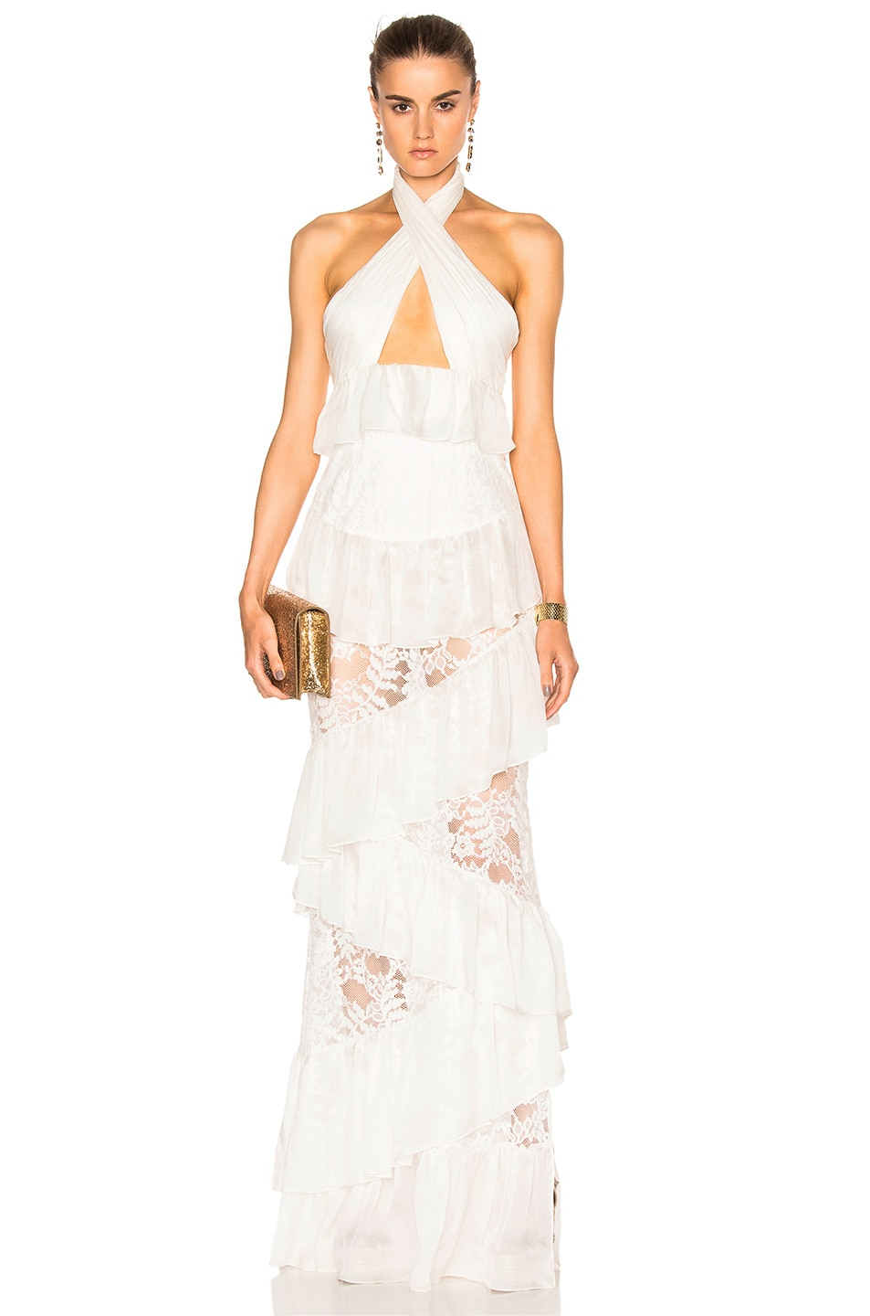 Image 1 of Houghton Alina Gown in White