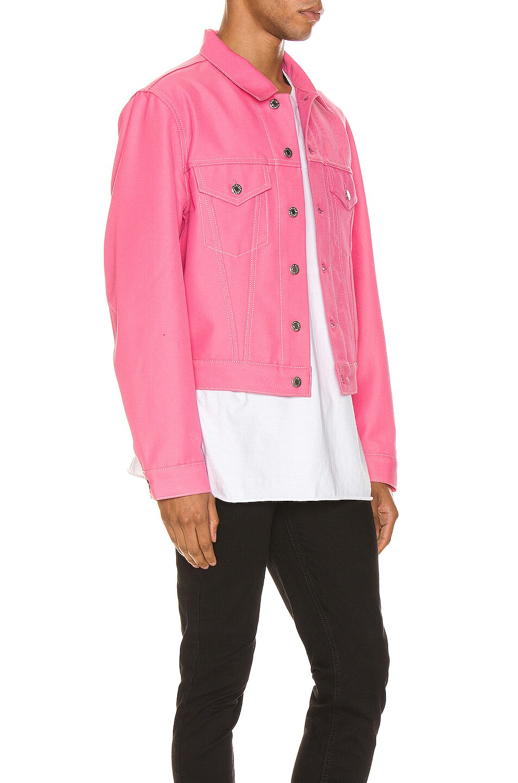 Image 2 of Helmut Lang Masc Trucker Jacket in Prism Pink