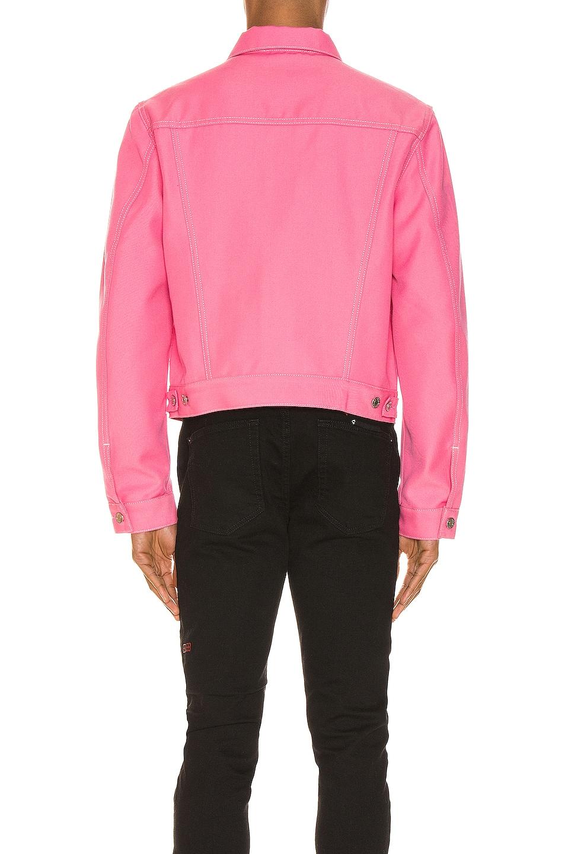 Image 3 of Helmut Lang Masc Trucker Jacket in Prism Pink