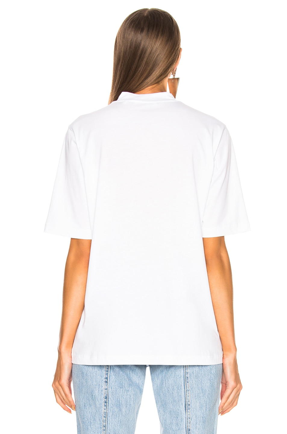 Image 3 of Helmut Lang Logo Tall Tee in White