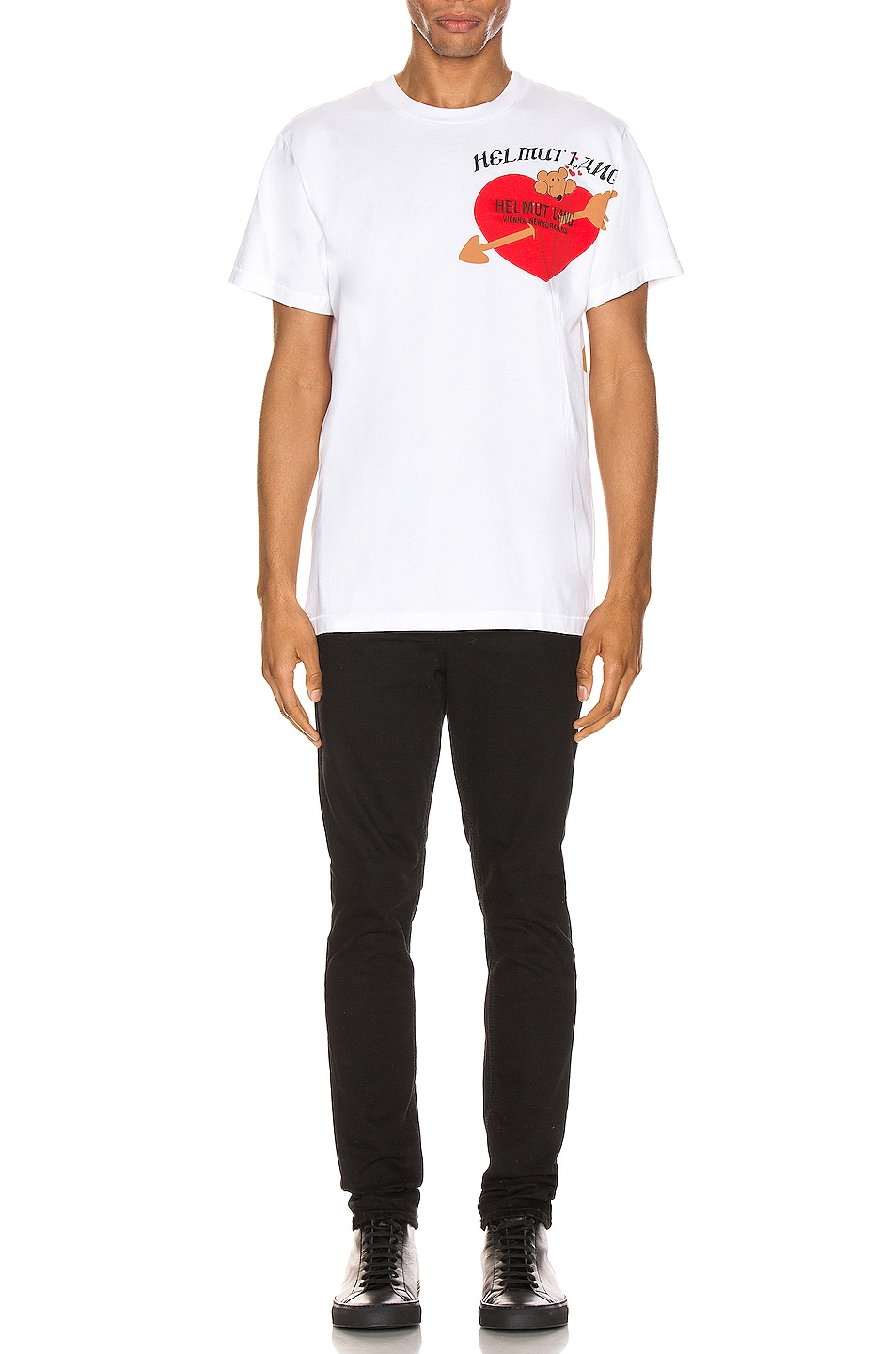 Image 5 of Helmut Lang PZ Valentine Standard Tee in Chalk White