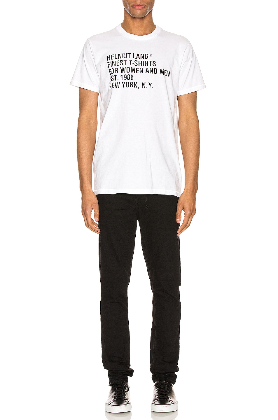 Image 4 of Helmut Lang Standard Tee in Chalk White