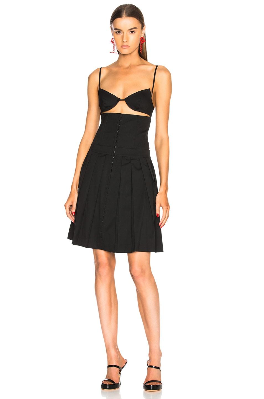Image 2 of Helmut Lang x Shayne Oliver Corset Dress in Black