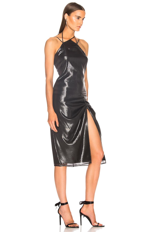 Image 2 of Helmut Lang x Shayne Oliver Pulled Slip Dress in Onyx