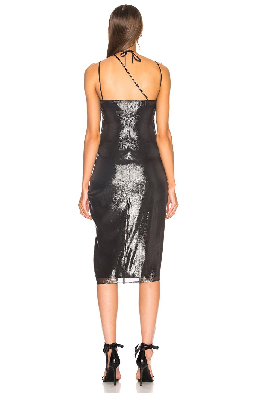 Image 4 of Helmut Lang x Shayne Oliver Pulled Slip Dress in Onyx
