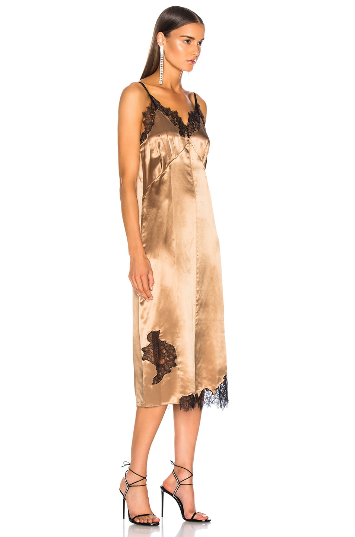 Image 2 of Helmut Lang Lace Slip Dress in Plaster