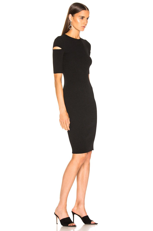 Image 2 of Helmut Lang Slash Dress in Black