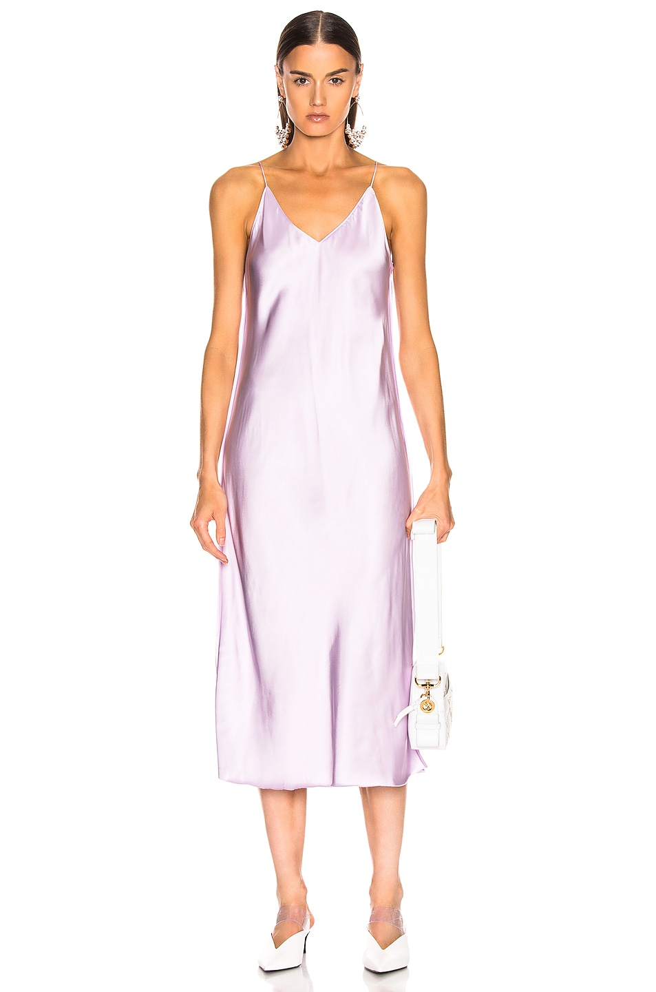 Image 1 of Helmut Lang Slip Dress in Lavender