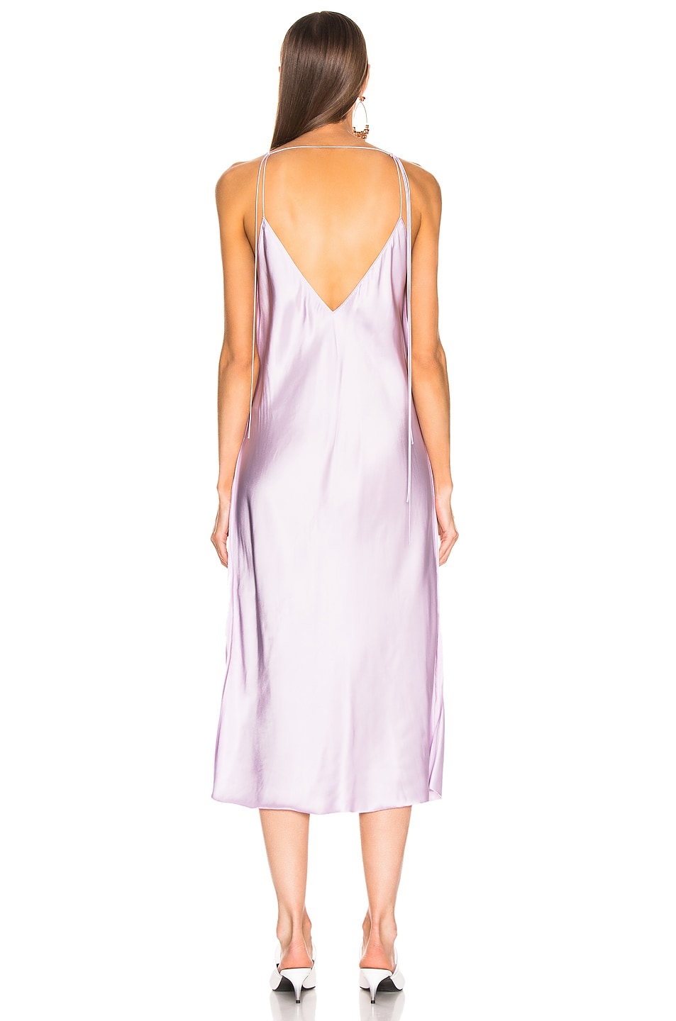 Image 3 of Helmut Lang Slip Dress in Lavender