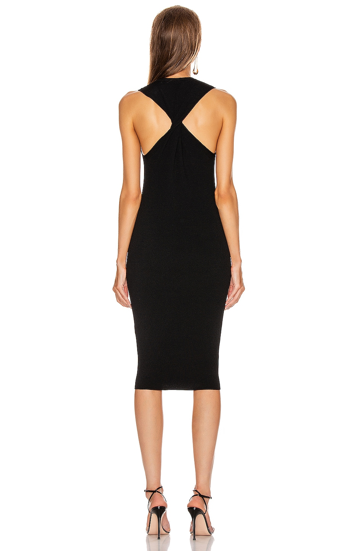 Image 4 of Helmut Lang Twist Tank Dress in Black