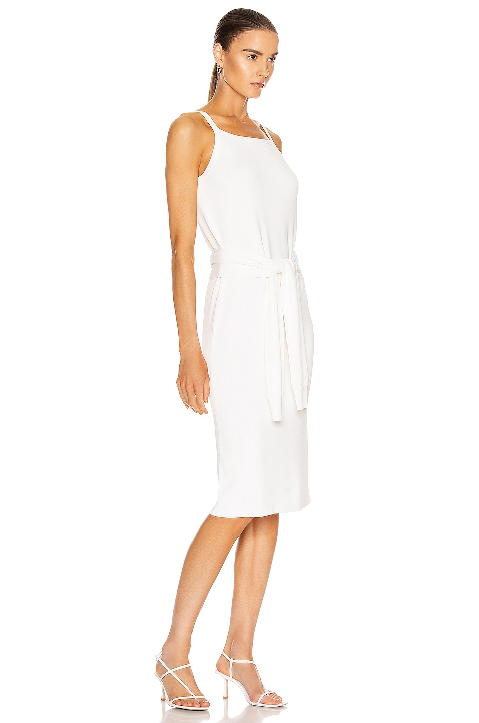 Image 2 of Helmut Lang Waist Dress in White