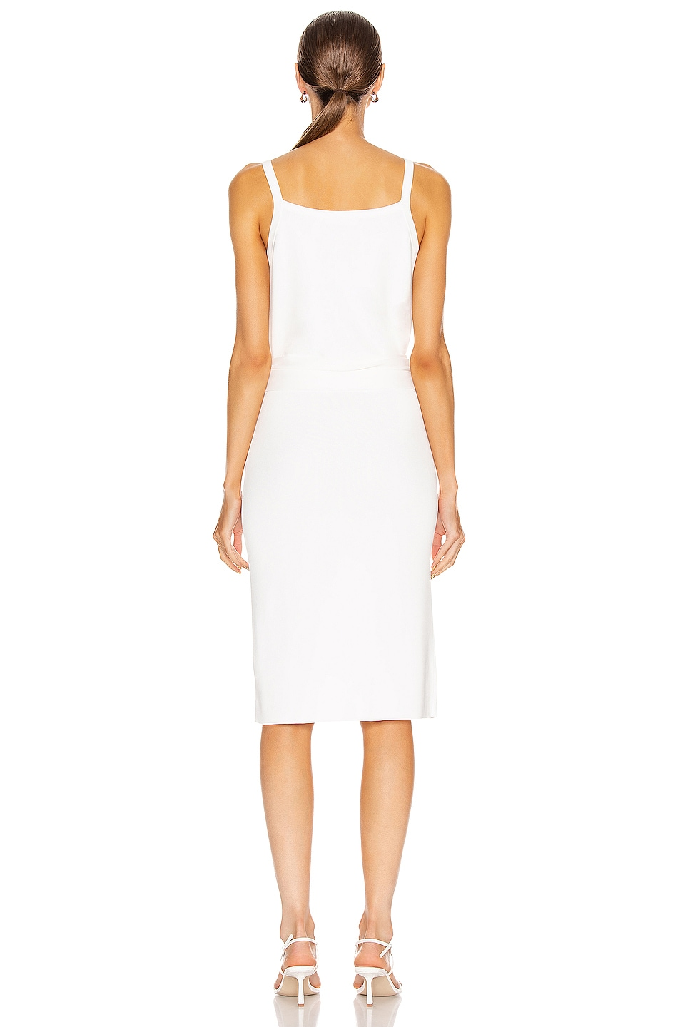 Image 3 of Helmut Lang Waist Dress in White
