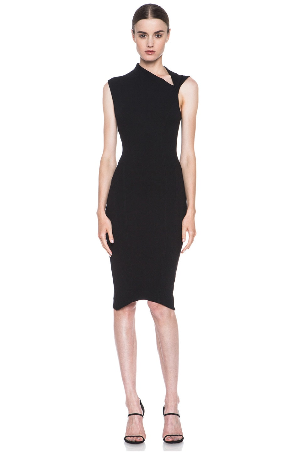 Image 1 of Helmut Lang Gala Body Contusion Dress in Black