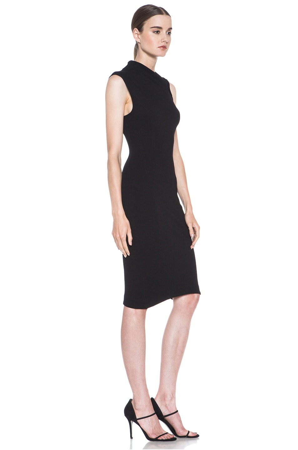 Image 3 of Helmut Lang Gala Body Contusion Dress in Black