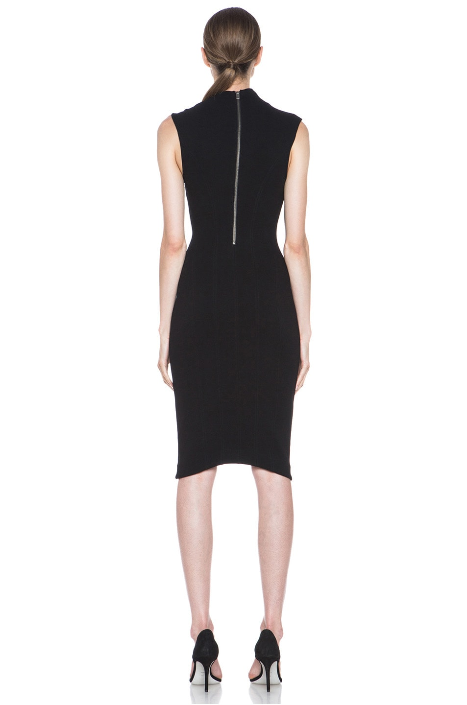 Image 4 of Helmut Lang Gala Body Contusion Dress in Black