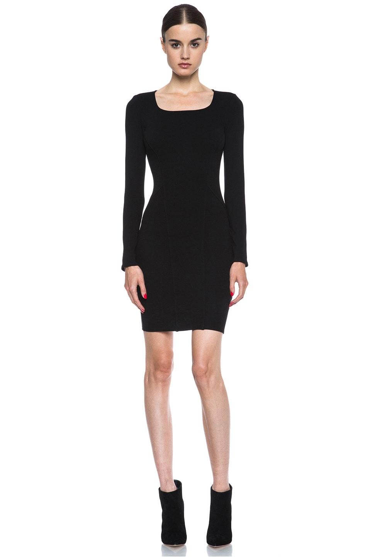 Image 1 of HELMUT Gala Knit Dress in Black