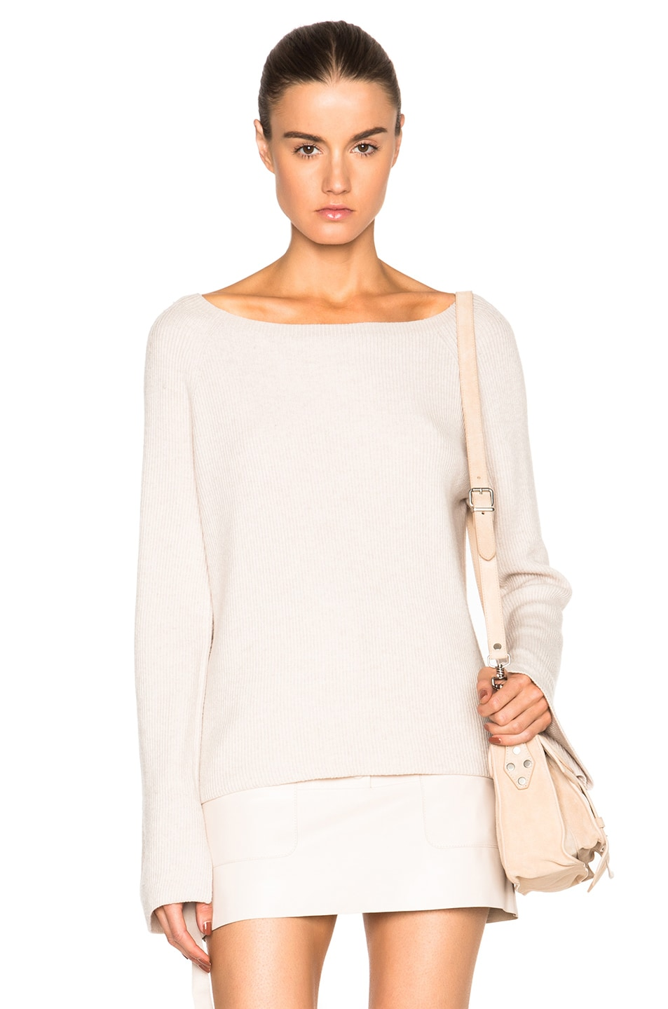 Image 1 of Helmut Lang Cashmere Wool Sweater in Shell
