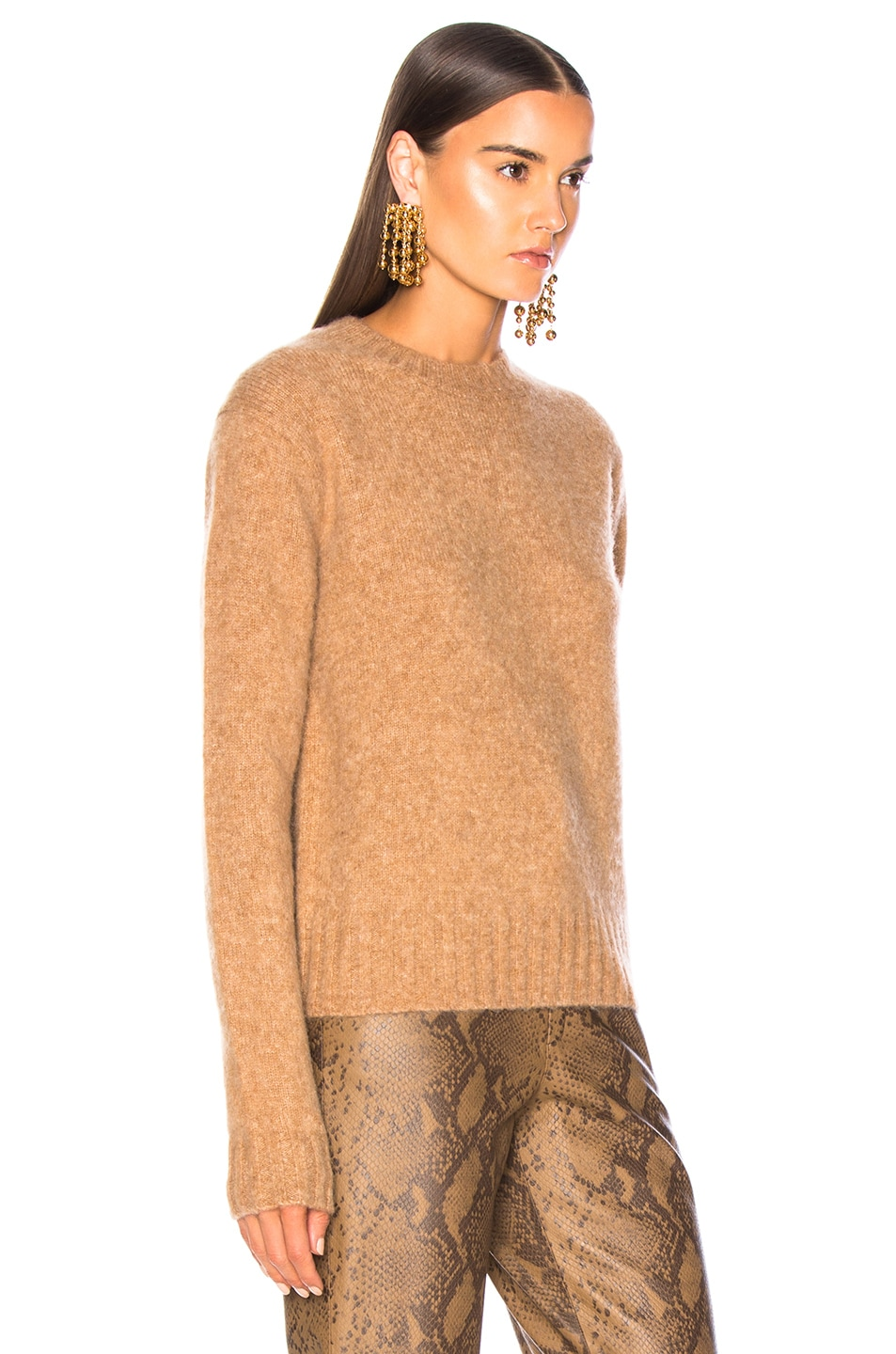 Image 3 of Helmut Lang Brushed Crew Neck Sweater in Band