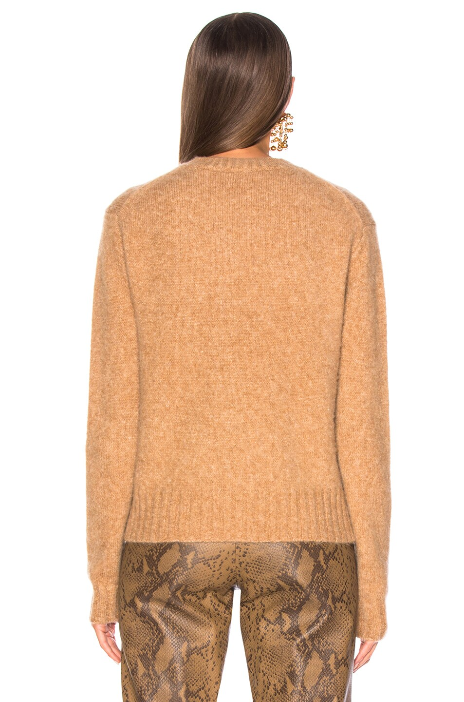 Image 4 of Helmut Lang Brushed Crew Neck Sweater in Band
