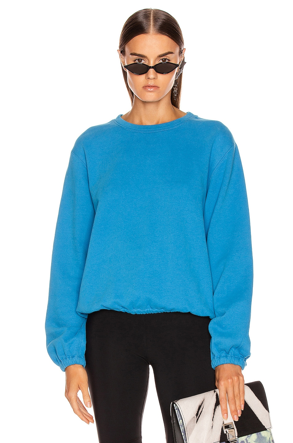 Image 1 of Helmut Lang Vintage Terry Sweatshirt in Balloon